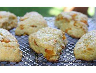 Tin of Homemade Buttery Apricot Scones