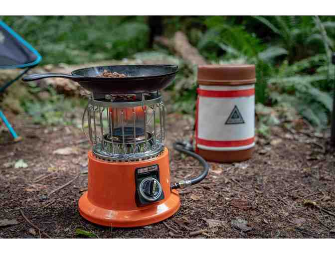 IGNIK Gas Growler Heater-Stove Camp Heat Set