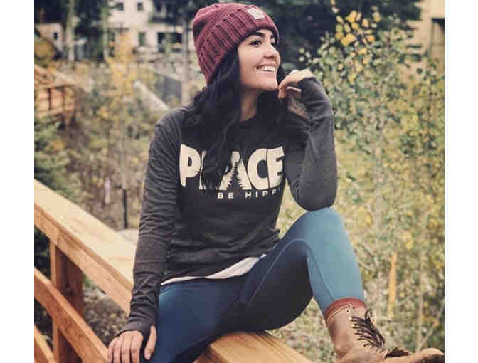 Be Hippy ECO Peace Hoodie - Photo 1