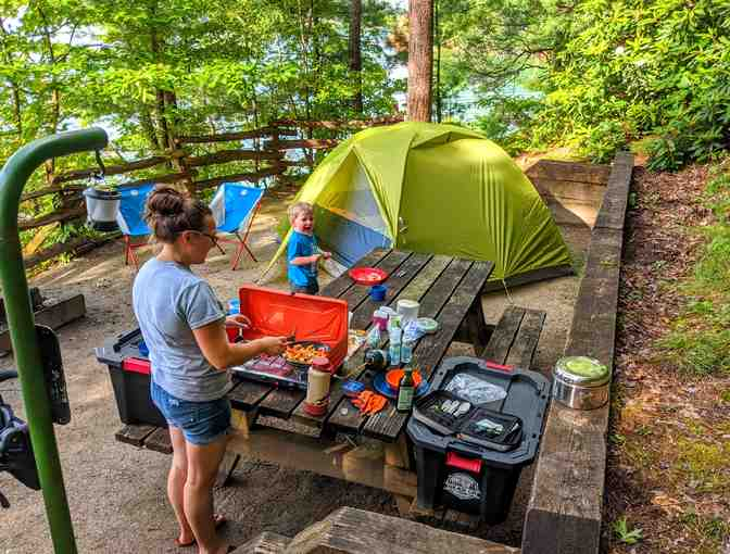 3-Day Deluxe Camping Package Rental for 4 - Photo 2