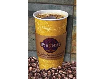It's A Grind Coffee House: $10 Gift Card