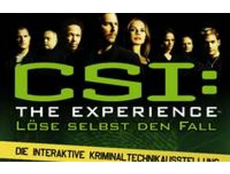 CSI: The Experience: A Pair of Tickets