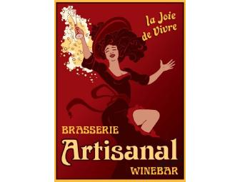 Dine Around Seattle: Dining for 2 at Artisanal Brasserie & Wine Bar