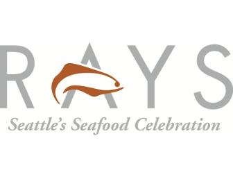 Dine Around Seattle: Dining for 2 at Ray's Boathouse Restaurant