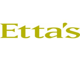 Dine Around Seattle: Dining for 2 at Etta's Restaurant