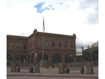 Historic Downtown Flagstaff Walking Tour for 8 with Noted Geologist