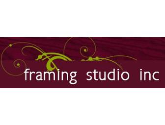 Framing Studio Inc: $100 Gift Certificate