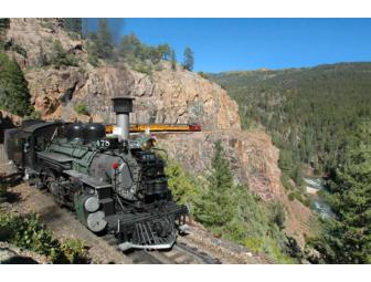 All aboard the Durango & Silverton Narrow Gauge Railroad! (Durango, CO)