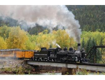All aboard the Durango and Silverton Narrow Gauge Railroad! (Durango, CO)