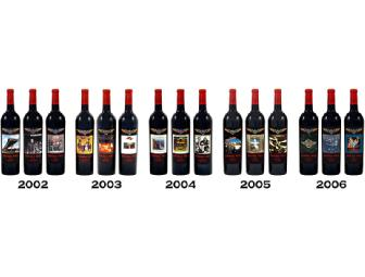 Doobie Red - 15 Bottle Autographed Collection of Premium Red Wine, BR Cohn Winery