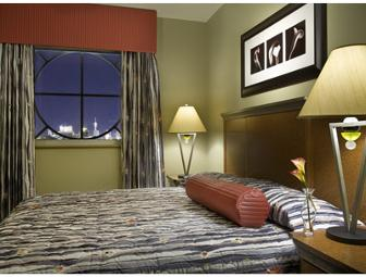 2 Night Stay in Deluxe One Bedroom Accomodations