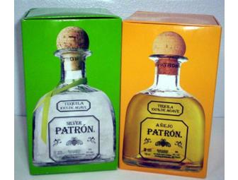 Patron Spirits: A Bottle of Patron Silver and a Bottle of Patron Anejo