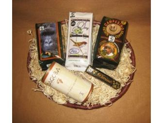 Fair Trade Gift Basket from Thanksgiving Coffee Company.