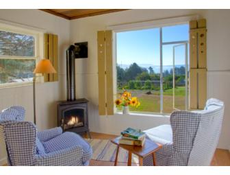 Two weeknights stay at Mar Vista Cottages in Gualala (Mendocino County) California.