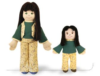 Emma Earth Girl, a 22 inch Earth Friend Doll.