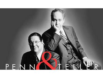 Penn & Teller: Pair of Tickets