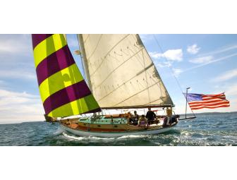 Half-day sail for two (2) from San Juan Classic Day Sailing