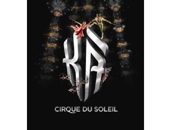 Cirque du Soleil: KA a Pair of Category One Tickets