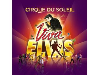 Cirque du Soleil: Viva ELVIS a Pair of Category Two Tickets