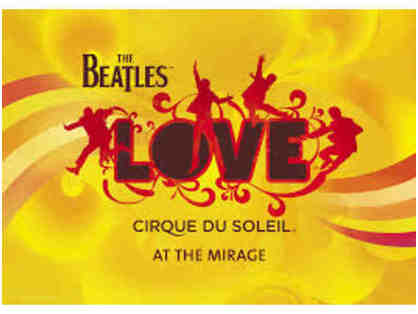Beatles LOVE: Two Tickets