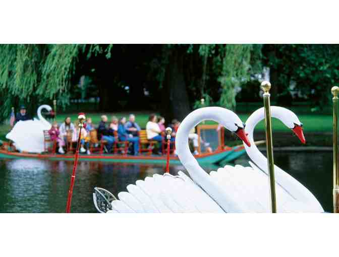 Ten (10) Boston Swan Boat Rides
