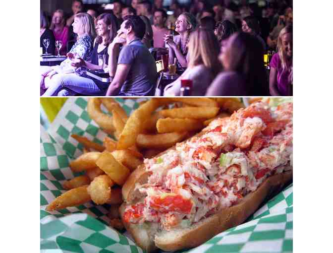 Comedy and Lobster! 4 Tickets to Laugh Boston and $150 at Yankee Lobster Co.
