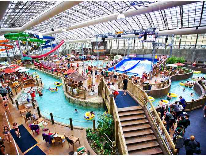 Jay Peak Resort 4-pack water park voucher; valid for 2 adults  and 2 juniors
