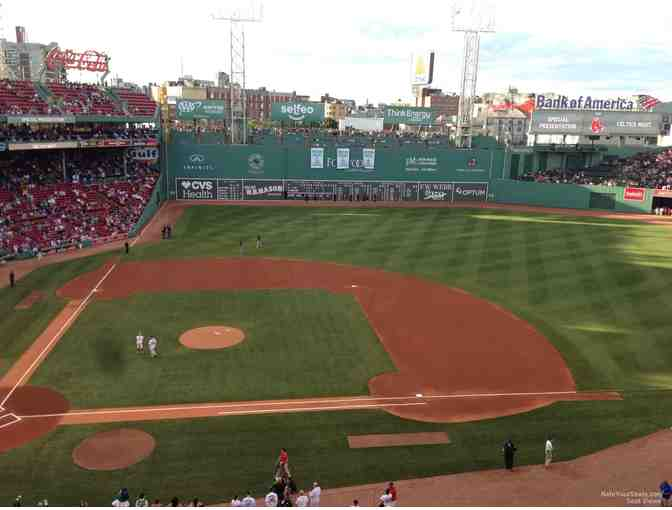 Two (2) Red Sox tickets in State Street Pavilion Club (Club 12, Row 1) to 2019 game
