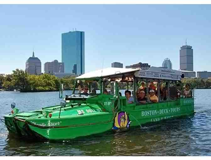 Two (2) Tickets to Boston Duck Tours