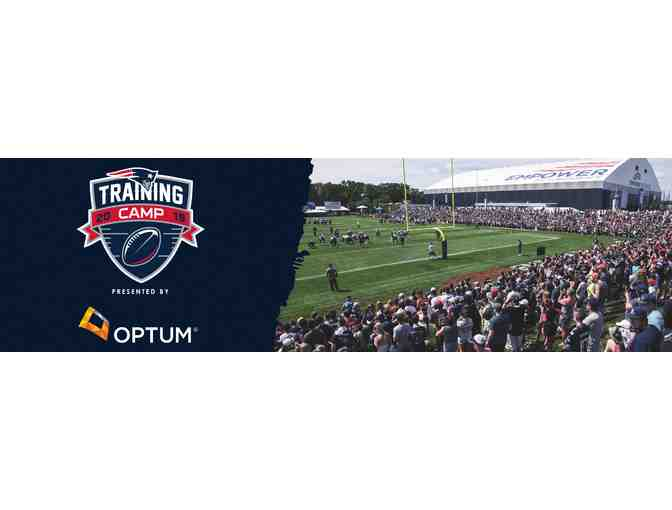 Family 4-pack of tickets to VIP New England Patriots Training Camp Experience (1 of 2) - Photo 1