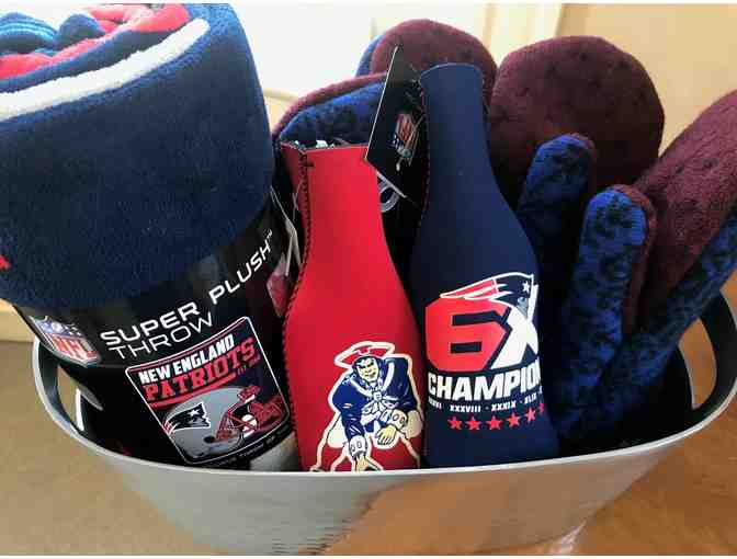 New England Patriots Tailgating Gift Basket