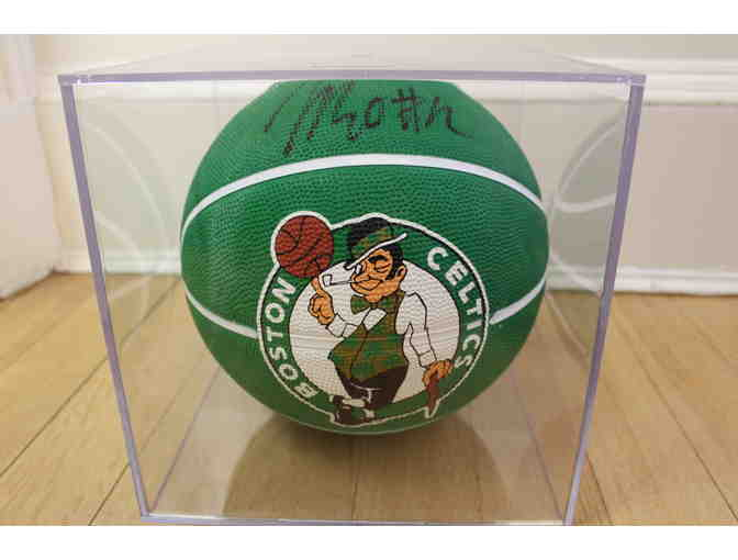Terry Rozier, Boston Celtics Point Guard, Autograph Basketball w/Display Case