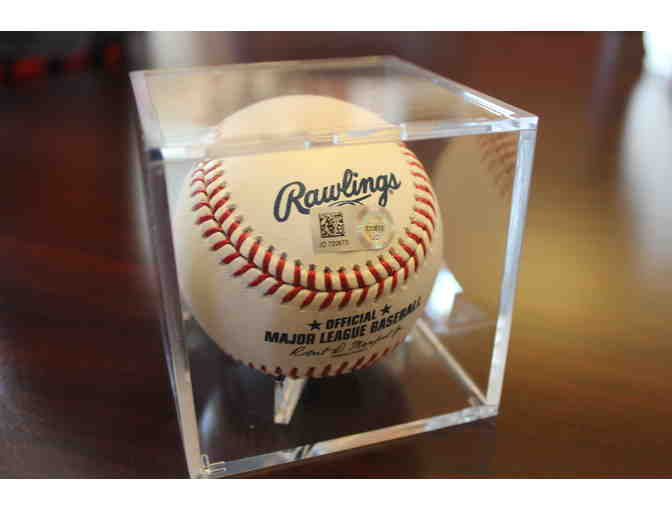 Jackie Bradley Jr., Boston Red Sox Center Fielder, Autograph Baseball w/Display Case