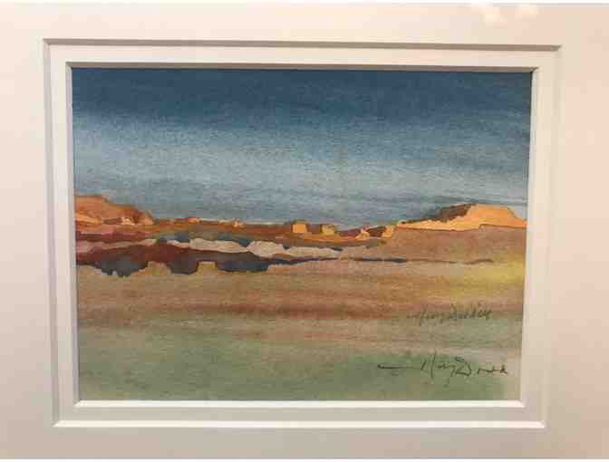 Artist Harvey Dodd Southwestern Watercolor Painting
