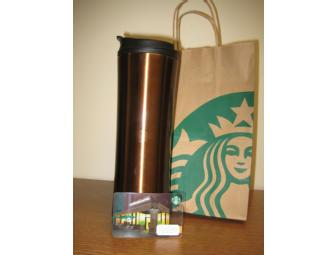 $50 Starbucks Gift Card and Travel Tumbler