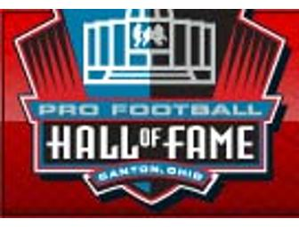 2 Adult Tickets to Pro Football Hall of Fame in Canton, Ohio