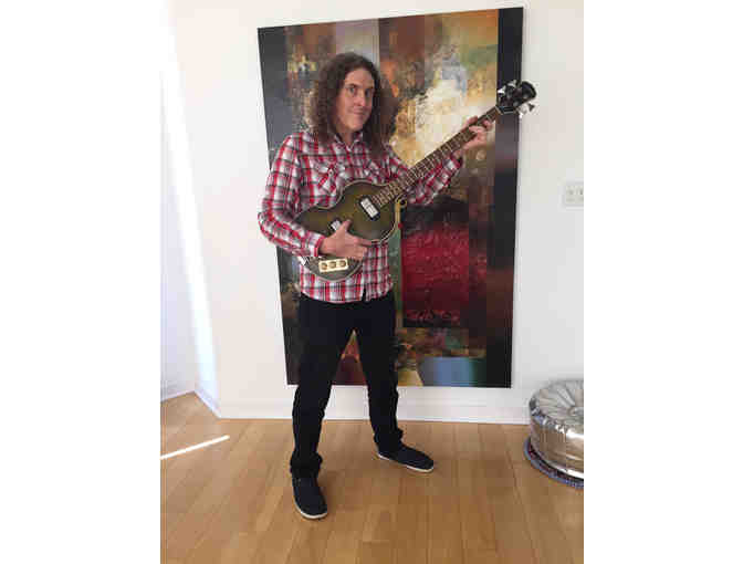 Weird Al Yankovic's One-Stringed Bass Guitar from 'Gump' Video! - Signed by Weird Al!