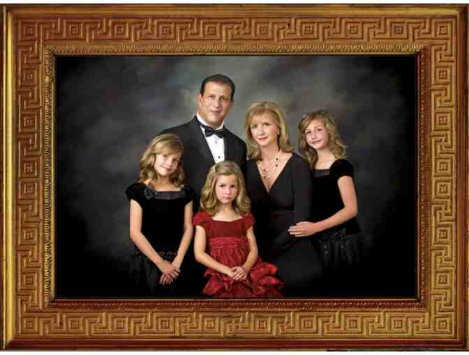 Bradford Portraits Family Sitting and 16 x 20 Canvas