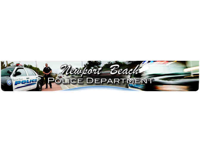 Newport Beach Police Department Ride Along - ADULT only