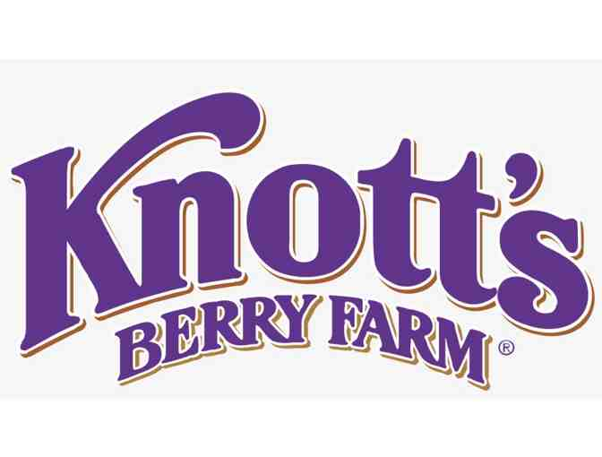 IN SCHOOL RAFFLE -  Knott's Family 4 pack