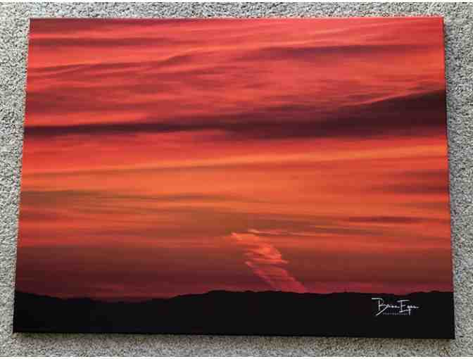 Brian Egan Original - Crimson Sunset