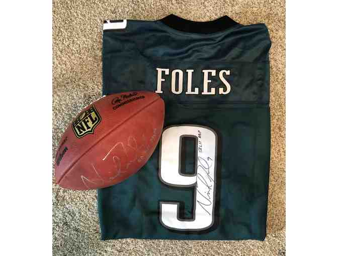Super Bowl LII Champion and MVP - NICK FOLES - Personally Autographed Jersey