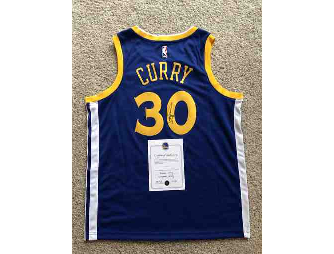 Stephen 'Steph' Curry - Signed Jersey