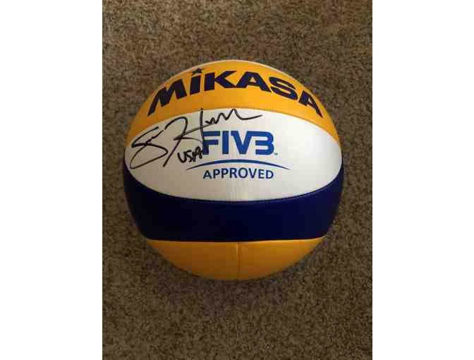 Team USA Beach Volleyball Star - Sara Hughes, Autographed Ball and More!