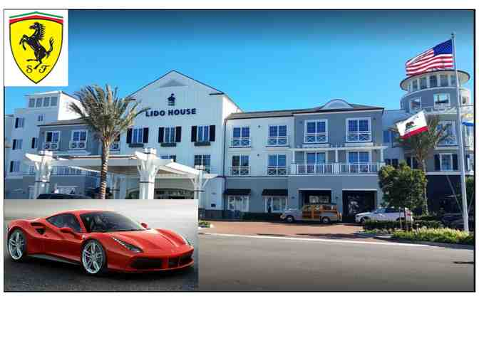 Ferrari + Lido House Hotel weekend experience
