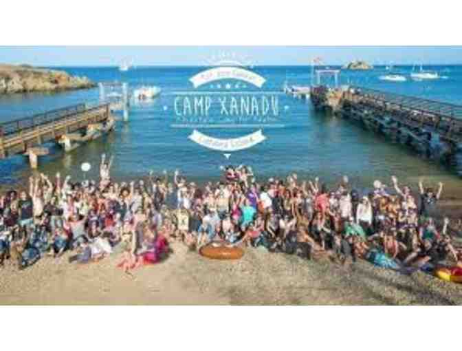 (1) $750 ticket to  Camp Xanadu - Summer Camp for Adults Emerald Bay, Catalina Island