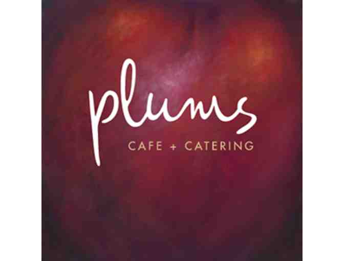Plums Cafe for Two