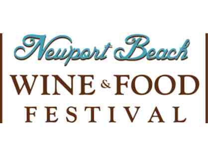 4 Tickets to Newport Beach Food and Wine Festival
