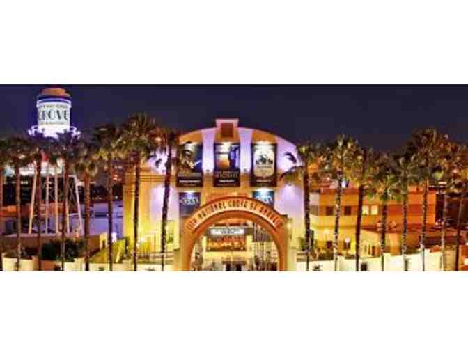 2 Tickets to ANY show at The City National Grove of Anaheim! - Photo 1