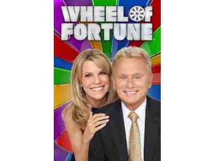 Win 4 passes to a live taping of Wheel of Fortune with Pat Sajak and Vanna White!